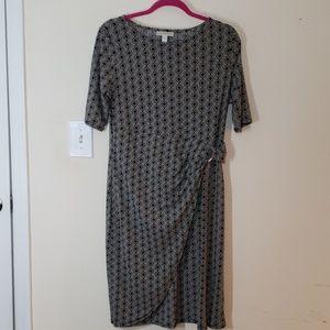 Dana Buchman Black & White Dress